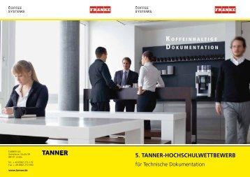 5. TANNER-HOCHSCHULWETTBEWERB