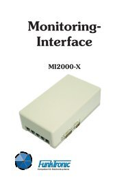 Monitoring- Interface MI2000-X - Funktronic