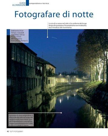 Fotografare di notte - Fotografia.it