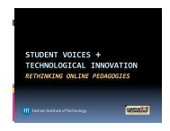 Campus Technology 2010 Presentation (pdf) - Fashion Institute of ...