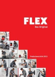 Productoverzicht 2013 - FLEX