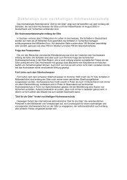Deklaration zum nachhaltigen Hochwasserschutz - Europa im Fluss