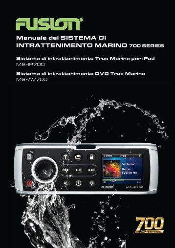 Manuale del SISTEMA DI INTRATTENIMENTO MARINO ... - Fusion