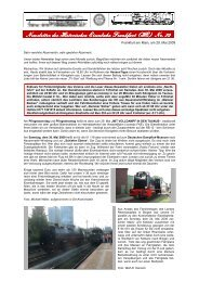 Newsletter_23_2009_29. Mail_2009 - Historische Eisenbahn Frankfurt