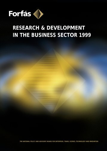 Research and Development in the Business Sector 1999 - Forfás