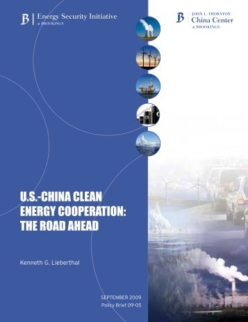 us-china clean energy cooperation - Brookings Institution