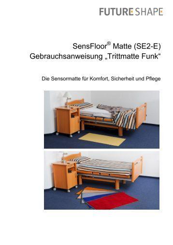 preise sensormatten funkaufr stung future shape. Black Bedroom Furniture Sets. Home Design Ideas