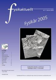 2005-1 - Svenska Fysikersamfundet