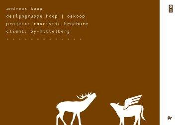 andreas koop designgruppe koop | oekoop project: touristic ...