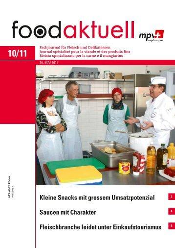 Saucen mit Charakter Fleischbranche leidet unter ... - Foodaktuell.ch