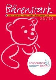 Bärenstark 25 - Förderkreis für krebskranke Kinder und Jugendliche ...