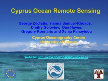 Cyprus Ocean Remote Sensing - Frederick University