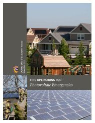 Photovoltaic Emergencies - Office of the State Fire Marshal