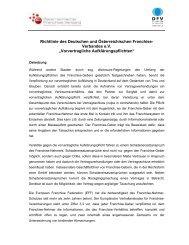 Vorvertragliche Aufklärungspflichten - Österreichischer Franchise ...