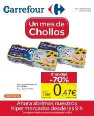 2a unidad -70% - Carrefour España