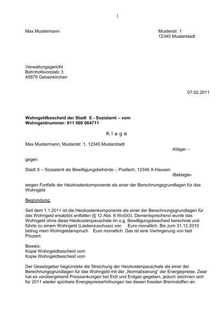 Klage Vor Dem Verwaltungsgericht Verwaltungsrecht 2021 9