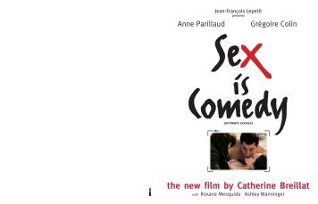 SEX IS COMEDY Download press kit - Flach Film