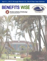 12 Pay Benefitwise - Florida Institute of Technology
