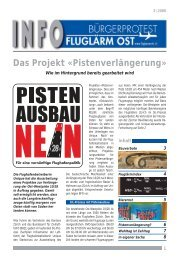 BFO Info Nr. 5 - Bürgerprotest Fluglärm Ost