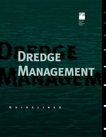 Dredge Management Guidelines - the BIEAP and FREMP Website