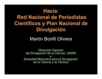 Martín Bonfil - Foro Consultivo