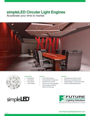 simpleLED Circular Light Engines - Future Lighting Solutions