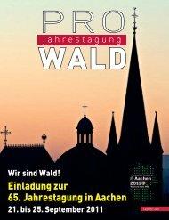 Einladungsbroschüre zum Download - Deutscher Forstverein