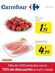 70% de descuento en la 2a unidad - Carrefour
