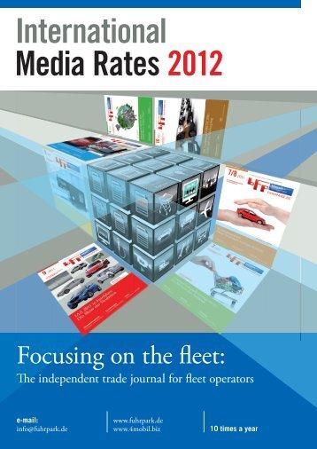 International Media Rates 2012 - fuhrpark.de - fuhrpark.de