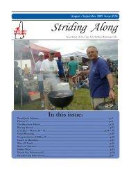 2009 Aug / September Newsletter - Gate City Striders