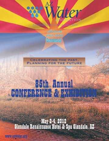 2012 conference program - AZ Water Association