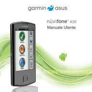 A50 Manuale Utente - Garmin-Asus