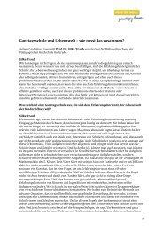 Interview mit Prof. Dr. Silke Traub