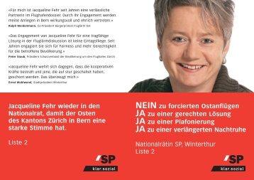 Positionspapier - Bürgerprotest Fluglärm Ost
