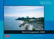 Hotel-Arrangements 2008 - Friedrichshafen