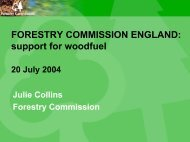 Woodfuel resource quantification study - Fuel Cell Markets