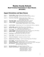 2012-2013 Back to School Orientations and Open Houses