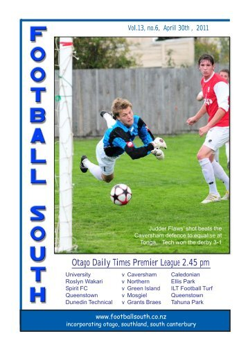 30th April 2011 - Football South