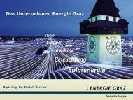 Das Unternehmen Energie Graz