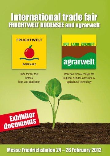 Exhibitor Info - Fruchtwelt Bodensee