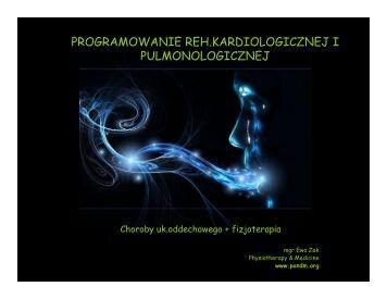 programowanie reh.kardiologicznej i pulmonologicznej - Pandm
