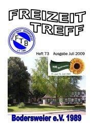 Heft 73 Ausgabe Juli 2009 - FTB