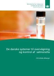 De danske systemer til overvågning og kontrol med salmonella