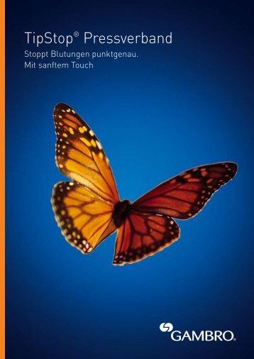 TipStop® Pressverband - Gambro