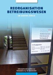Informationsbroschüre - Gemeindeamt - Kanton Zürich