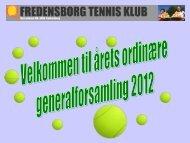 Dagsorden for ordinær generalforsamlingen 23.2.2012