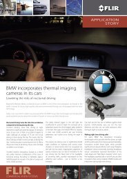 BMW incorporates thermal imaging cameras in its cars