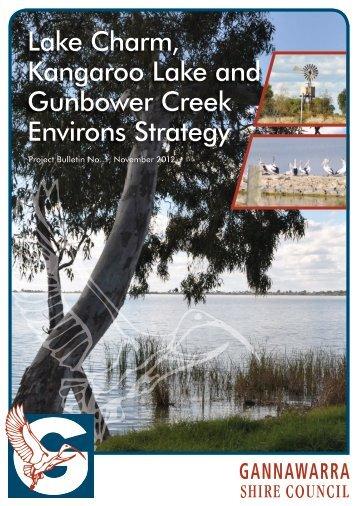 Project Bulletin No. 1, November 2012 - Gannawarra Shire Council