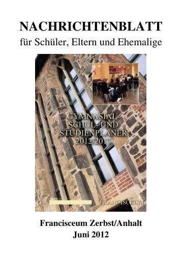 Datei öffnen - Förderverein Francisceum Zerbst e. V.