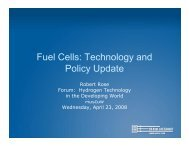 Fuel Cells: Technology and Policy Update - Fuel Cells 2000